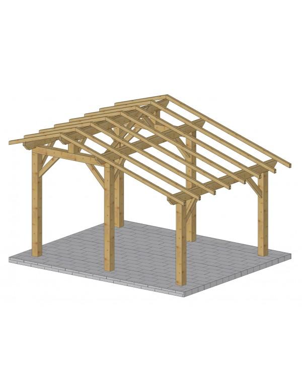 Abris de jardin en bois for Abris de jardin en kit