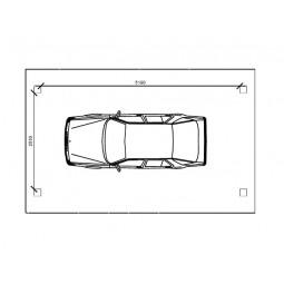 dimensions abri voiture