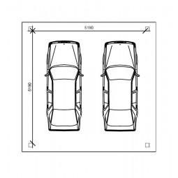 dimensions abri 2 voitures