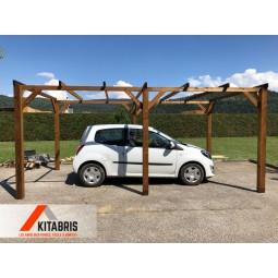 Carport plat 2,9 x  5,1 kitabris